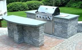 outdoor bbq plans brick cabinets diy kitchen construction outdoor bbq plans