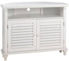 white corner tv stand. white corner tv stands example pictured savannah louvered door stand