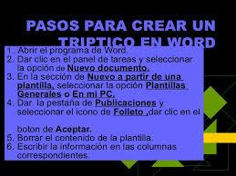 Como Hacer Un Triptico En Word 2010 Barca Fontanacountryinn Com