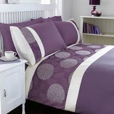 mei duvet cover set purple kingsize in home furniture diy bedding bed linens sets