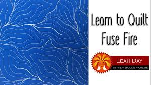 How to Machine Quilt Fuse Fire - YouTube & How to Machine Quilt Fuse Fire Adamdwight.com
