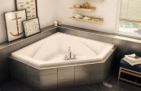 creative home design fantastic corner bathtub shower combo as well as ctf2 6060 corner or