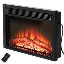electric fireplace wall insert charlton home gilcrease mounted