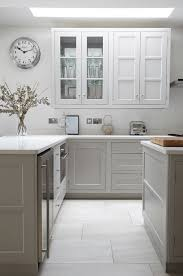 White And Gray Kitchen Kitchen Color Ideas Freshome