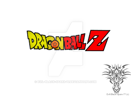 Dragonball Z logo .:lineart 30:. coloured by Evil-Black-Sparx-77 on ...