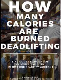 how many calories are burned
