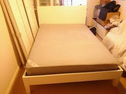 Second Hand Bedroom Furniture London Secondhand Used Ikea Nordli Standard Double Bed Sultan Huglo