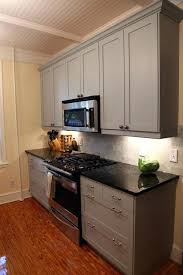 painted kitchen cabinets with black appliances. Best Color To Paint Kitchen Cabinets Large Size Terrific With Black Appliances Images Design Inspiration For Painted