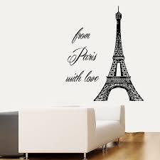 Paris Wallpaper For Bedroom Bedroom Decor Modern Fashion Paris Bedroom Decor With Artwork