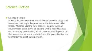 genre essay mrs duffey c ela ppt science fiction