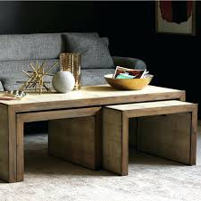dark wood coffee table with drawers end tables large