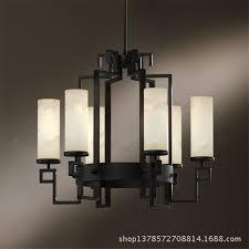 black chandelier lighting. Modern Chandelier Engineering Lighting Restaurant Black Wrought Iron Living Room 6 Led Crystal Chandeliers I