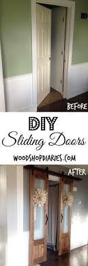 french closet doors diy. Bi-fold To Faux Shiplap French Closet Doors | Doors, And Diy