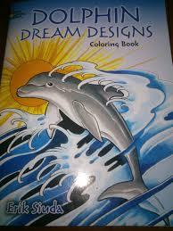 Dolphin Dream Designs Coloring Book Perfectsweetcolors Dolphin Dream Designs Kleurboekenwinkel