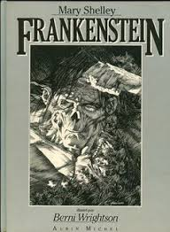 frankenstein mary sey ilrated by berni whrightson