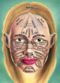 Chinese Medicine Face Reading Chart Positive Health Online Article Chinese Face Reading For