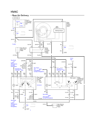 2006 ford truck f150 1 2 ton p u 4wd 5 4l fi sohc 8cyl repair rear air delivery electrical schematic rear a c 2002