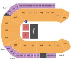 Wfcu Centre Tickets In Windsor Ontario Wfcu Centre Seating