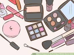 image led apply tween makeup step 1