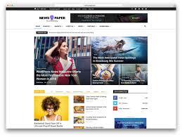 Wordpress Template Newspaper Top 50 News Magazine Wordpress Themes 2019 Colorlib