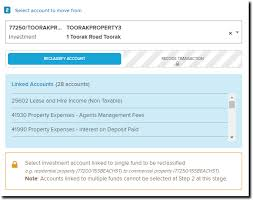 Property Management Chart Of Accounts Transfer Real Estate Asset From Residential To Non