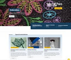 Combine Embroidery Designs Stitch Print International Free Digital Magazines Stitch
