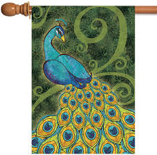 Pretty Peacock Flag 1 - Mad About Gardening