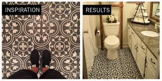 diy painted bathroom floor. it\u0027s the owner\u0027s take on a tile joanna gaines used. diy painted bathroom floor i