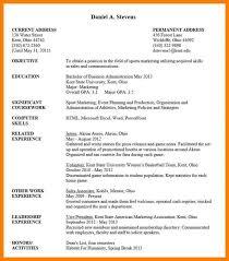 Undergraduate Student Resume Best 48 Undergraduate Student Cv Sample Undergraduate Resume Template