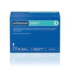 <b>Orthomol</b> (<b>Ортомоль</b>) <b>Vital</b> F саше 30 шт. купить по низким ценам ...