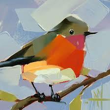 136 original bird oil painting by angela moulton prattcreekart birds oil oil