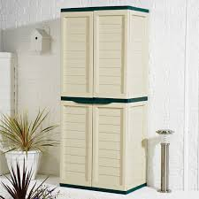 Outdoor Plastic Storage Cabinets With Doors plastic cabinets for