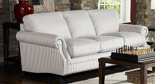 striped sofas living room furniture. Blue Striped Fabric Cottage Style Sofa \u0026 Loveseat Set Throughout Latest Sofas And Chairs Living Room Furniture