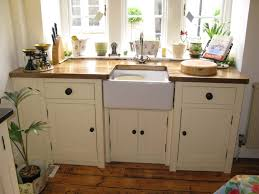 Freestanding Kitchen Furniture Oak Kitchen Free Standing Cabinets
