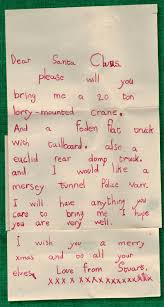 a letter to santa from the 1950s museum and village