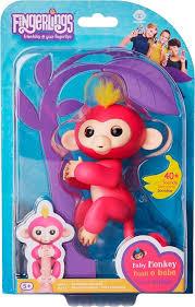 Best Buy: WowWee Fingerlings Baby Monkey Bella Pink 3705