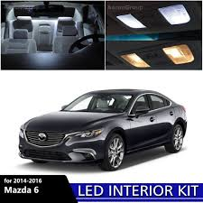 2014 Mazda 6 Interior Lights Details About 15pcs White Interior Led Light Package Kit For 2014 2016 Mazda 6 Mazda6