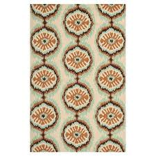 how to clean area rugs by hand awesome hand hooked indoor outdoor rug with an ikat