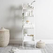 Bathroom Ladder Shelves | Home Design Ideas and Inspiration