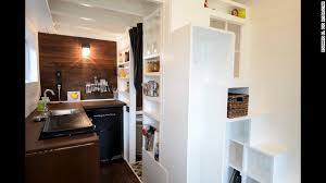tiny house fridge. The House Includes A Working Kitchen With Small-scale Appliances, Including Fridge And Tiny E
