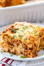 easy homemade lasagna clic dinner