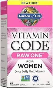 Garden of Life <b>Raw One</b> for Women (75 UltraZorbe Vegetarian ...