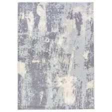 jaipur rugs steel gray 2 ft x 3 ft abstract area rug