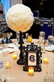 weddingbee boards. Black and Ivory Centerpieces Weddingbee Boards Black and Ivory