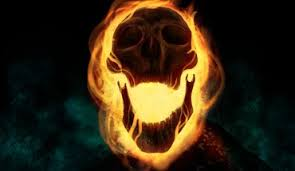 cartoons skulls ics fire ghost rider drawings traditional