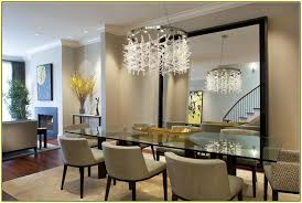 image of modern dining room chandeliers round