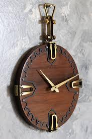 wall clock wood clock wall hanging