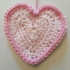 Crochet Heart Pattern Free Inspiration Crochet Valentine Love Heart Sweet Pattern Ruby Custard