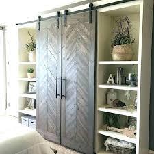 sliding barn doors interior. Interior Barn Door With Glass Sliding Doors A