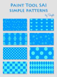 Simple patterns for SAI by Sayuki-Art ...